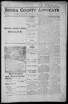 Sierra County Advocate, 1915-11-12 by J.E. Curren