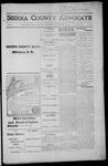 Sierra County Advocate, 1915-11-19 by J.E. Curren