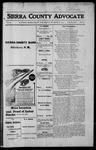 Sierra County Advocate, 1915-11-26 by J.E. Curren