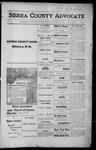 Sierra County Advocate, 1915-12-17 by J.E. Curren