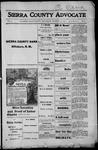 Sierra County Advocate, 1915-12-24 by J.E. Curren