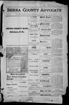 Sierra County Advocate, 1915-12-31 by J.E. Curren