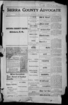 Sierra County Advocate, 1915-12-31