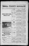 Sierra County Advocate, 1916-01-07 by J.E. Curren