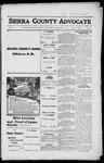 Sierra County Advocate, 1916-01-14 by J.E. Curren