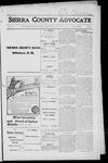 Sierra County Advocate, 1916-01-21 by J.E. Curren