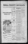 Sierra County Advocate, 1916-01-28 by J.E. Curren