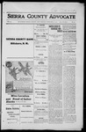 Sierra County Advocate, 1916-02-04 by J.E. Curren