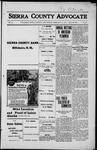 Sierra County Advocate, 1916-02-11 by J.E. Curren