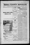 Sierra County Advocate, 1916-02-18 by J.E. Curren