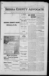Sierra County Advocate, 1916-02-25 by J.E. Curren