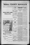 Sierra County Advocate, 1916-03-03 by J.E. Curren