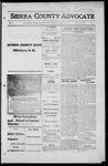 Sierra County Advocate, 1916-03-10 by J.E. Curren