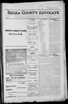 Sierra County Advocate, 1916-03-17 by J.E. Curren