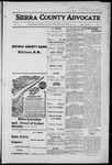 Sierra County Advocate, 1916-03-24