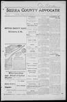 Sierra County Advocate, 1916-04-07 by J.E. Curren