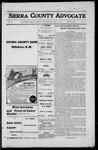 Sierra County Advocate, 1916-04-21 by J.E. Curren