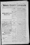 Sierra County Advocate, 1916-04-28