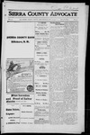 Sierra County Advocate, 1916-05-12