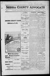Sierra County Advocate, 1916-05-19 by J.E. Curren