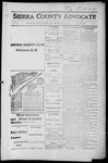Sierra County Advocate, 1916-05-26 by J.E. Curren