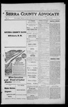 Sierra County Advocate, 1916-06-02 by J.E. Curren
