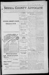 Sierra County Advocate, 1916-06-09 by J.E. Curren