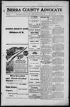 Sierra County Advocate, 1916-06-16 by J.E. Curren