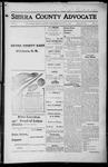 Sierra County Advocate, 1916-06-23 by J.E. Curren
