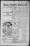 Sierra County Advocate, 1916-07-21 by J.E. Curren