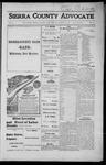 Sierra County Advocate, 1916-08-04 by J.E. Curren