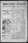 Sierra County Advocate, 1916-08-11