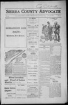 Sierra County Advocate, 1916-08-18 by J.E. Curren