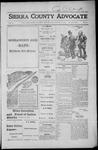 Sierra County Advocate, 1916-08-18
