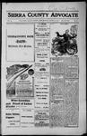 Sierra County Advocate, 1916-08-25