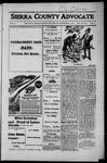 Sierra County Advocate, 1916-09-01