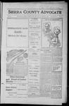 Sierra County Advocate, 1916-09-08 by J.E. Curren