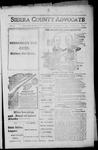 Sierra County Advocate, 1916-09-29 by J.E. Curren