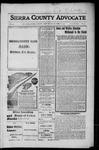 Sierra County Advocate, 1916-10-06 by J.E. Curren