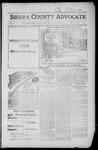 Sierra County Advocate, 1916-10-20 by J.E. Curren