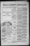 Sierra County Advocate, 1916-11-10 by J.E. Curren
