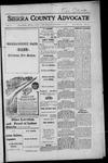 Sierra County Advocate, 1916-11-17 by J.E. Curren