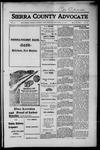 Sierra County Advocate, 1916-11-24 by J.E. Curren