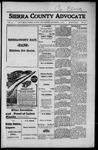 Sierra County Advocate, 1916-12-01 by J.E. Curren