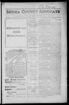 Sierra County Advocate, 1916-12-08 by J.E. Curren