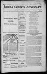 Sierra County Advocate, 1916-12-22
