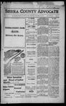 Sierra County Advocate, 1916-12-29 by J.E. Curren