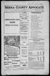 Sierra County Advocate, 1917-01-19 by J.E. Curren