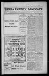 Sierra County Advocate, 1917-03-09 by J.E. Curren