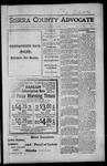 Sierra County Advocate, 1917-03-16 by J.E. Curren